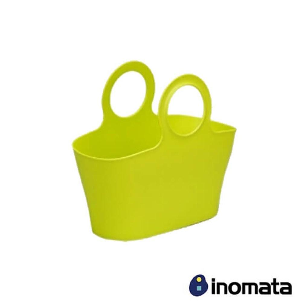 INOMATA 提籃系列-大手提籃-蘋果綠 IN-4481-G