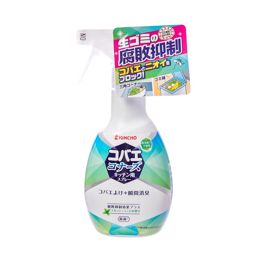 日本KINCHO金鳥廚餘腐敗抑制果蠅防治噴霧250ml