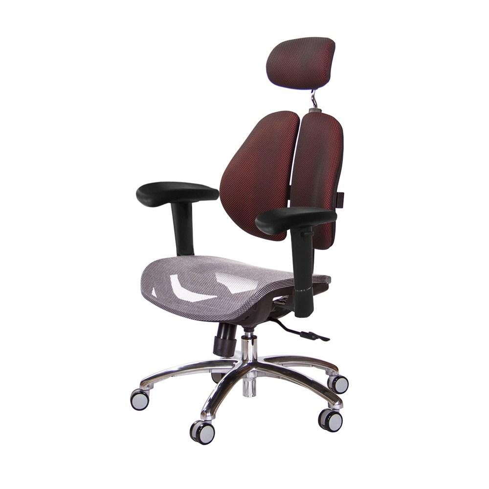 GXG 高雙背網座電腦椅(鋁腳/升降滑面扶手)TW-2804 LUA6(訂購後備註顏色)