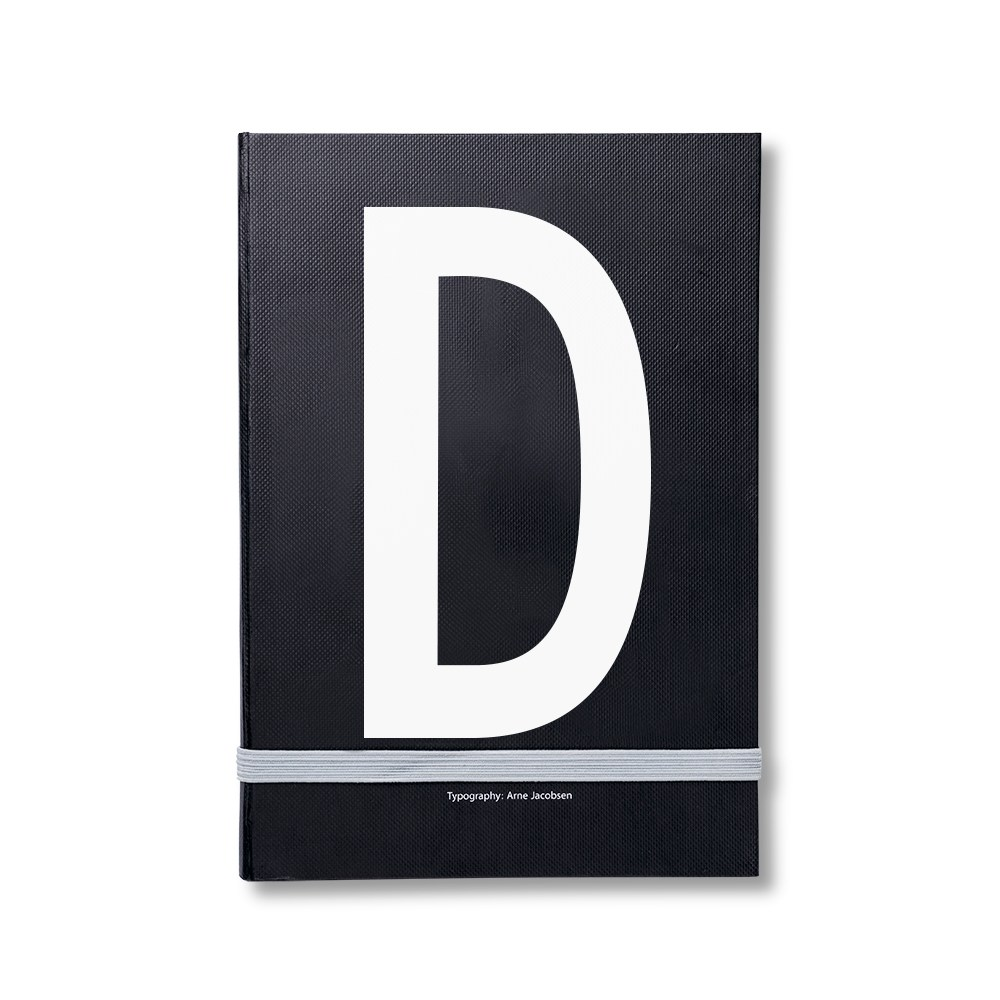Design Letters 個人字母筆記本 D