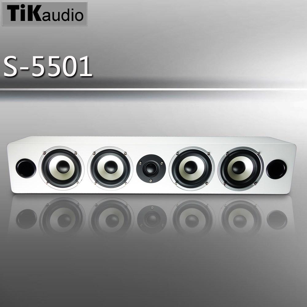 TiKaudio S-5501 中置喇叭 白