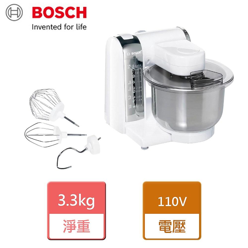 【BOSCH 博世】萬用廚師機-純淨白-MUM4415TW