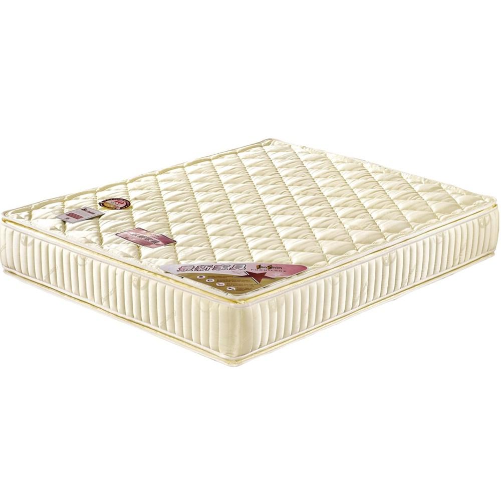 【obis】四線獨立筒床墊-5*6.2尺(雙人5×6.2尺)