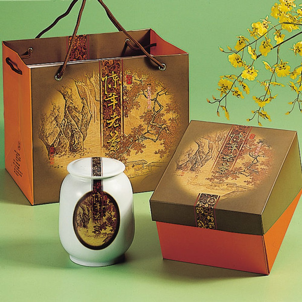 石門.陳年老茶-陶瓷罐裝(300g/罐),共一盒)