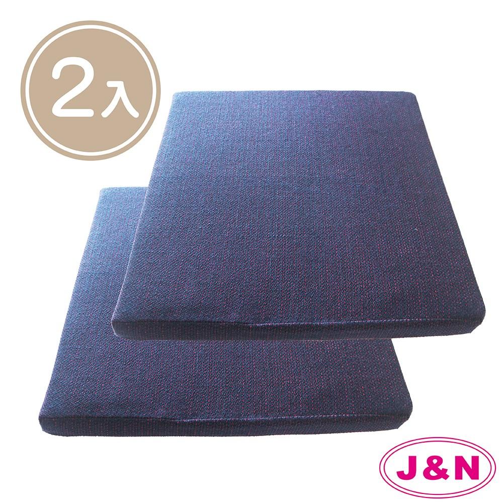 【J&N】北非風情立體坐墊 - 55x55cm(2入/1組)紫藍