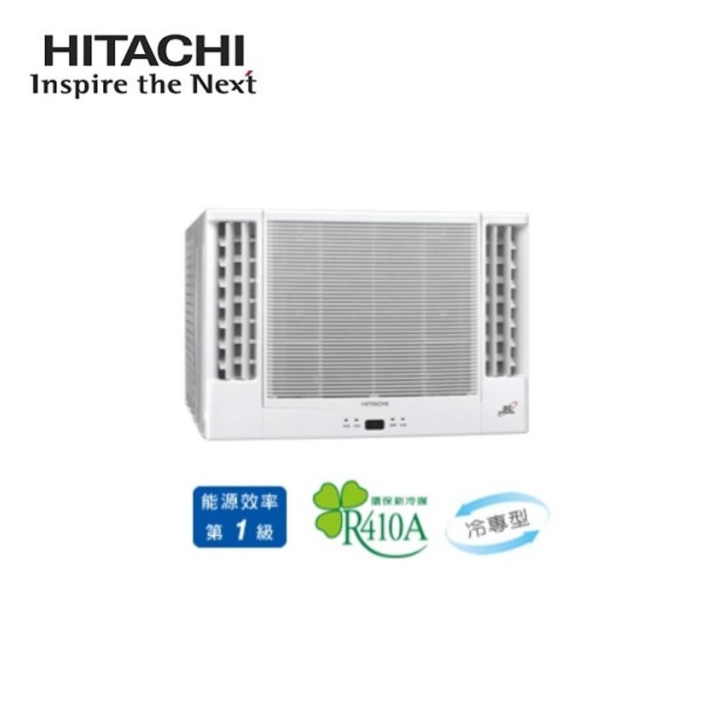 HITACHI日立 7-8坪雙吹窗型變頻冷氣 RA-40QV1