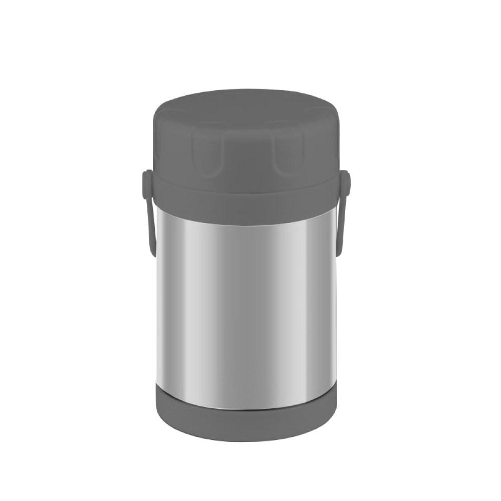 HOLA 304不鏽鋼真空保溫提鍋2L-原色