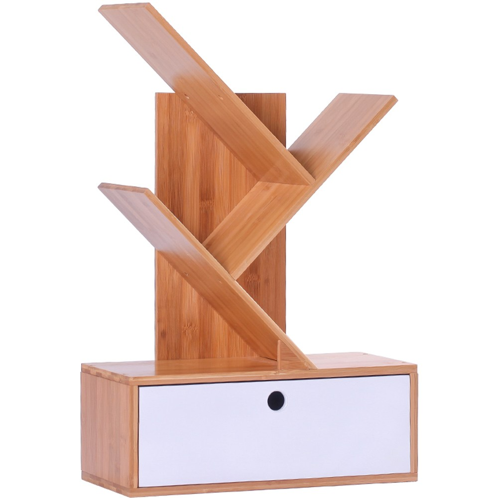 竹藝竹製抽屜式收納架