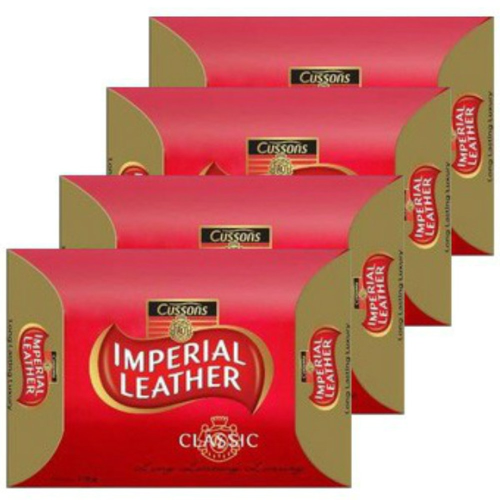 【Cussons 】Imperial leather香皂 9組36塊