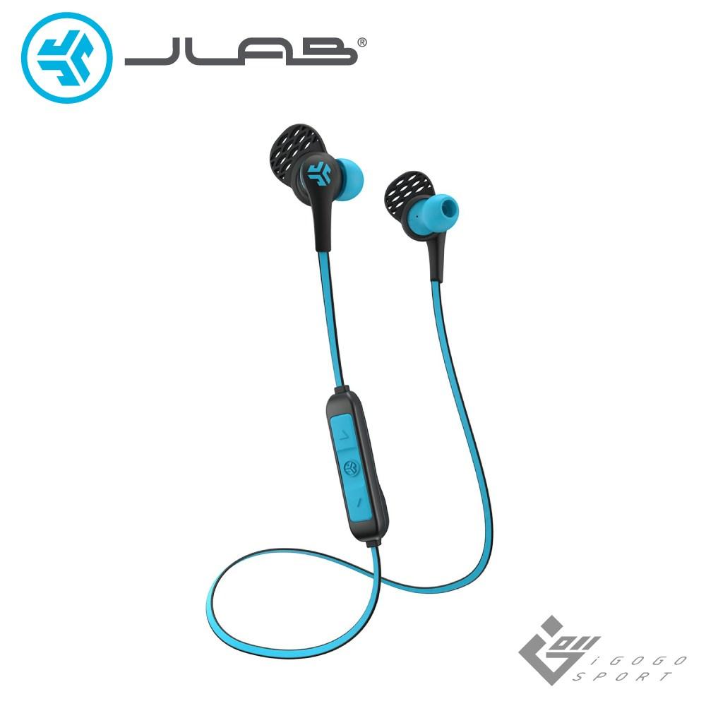 JLab JBuds Elite 藍牙運動耳機藍色