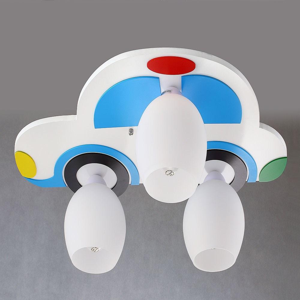 HONEY COMB ㄅㄨㄅㄨ小汽車快樂兒童燈 白色 TA7472R