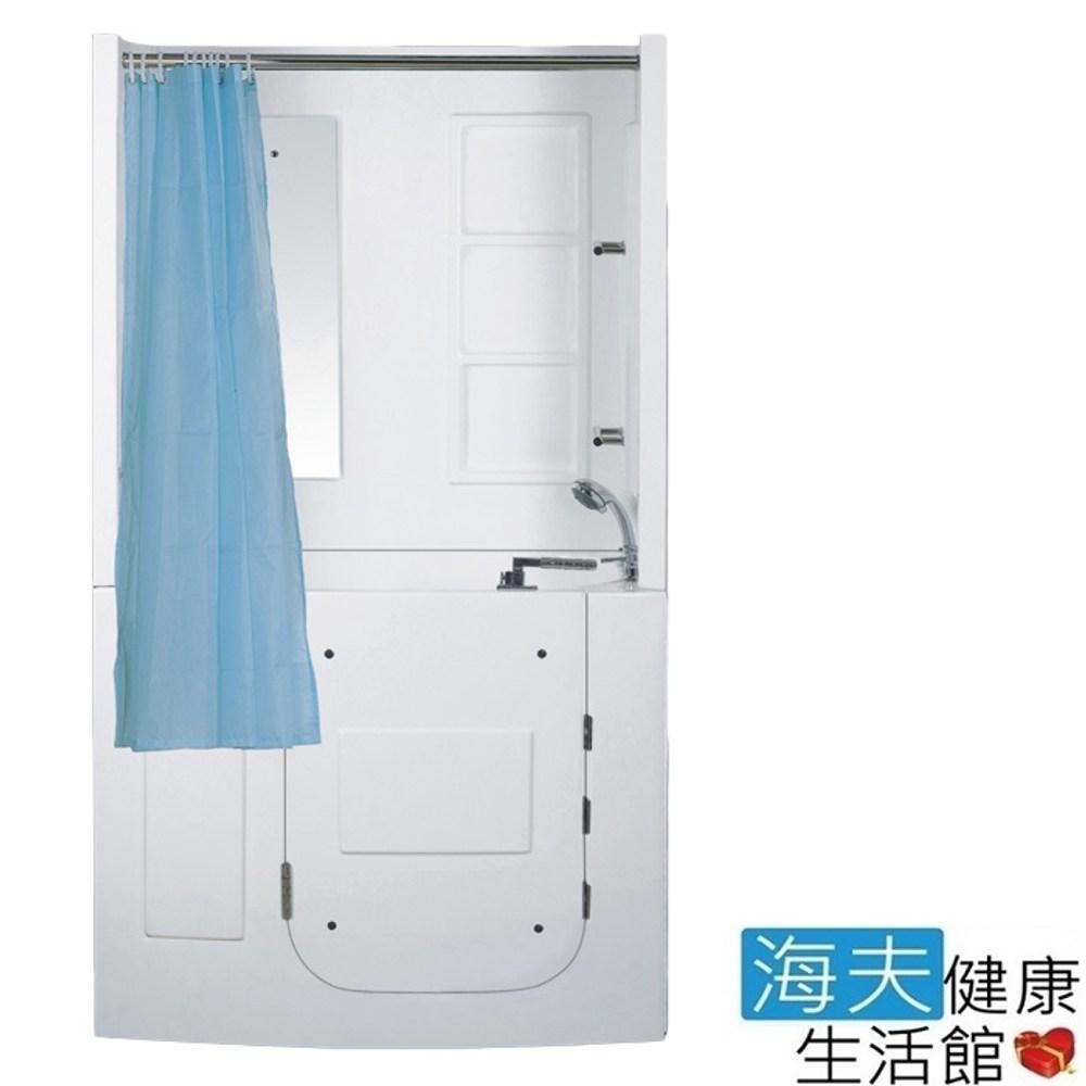 【海夫】開門式浴缸 109B-R 氣泡按摩款_120*68*205cm