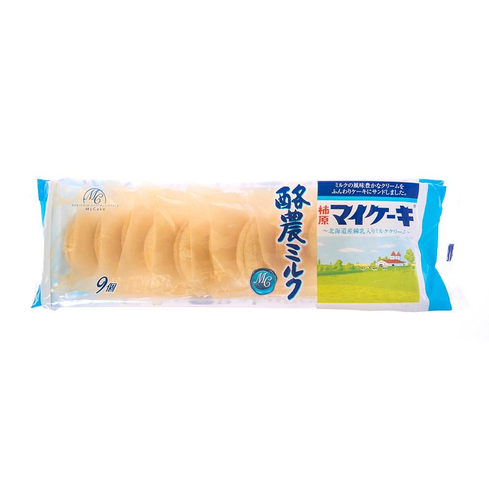 日本柿原酪農牛奶風味蛋糕126g