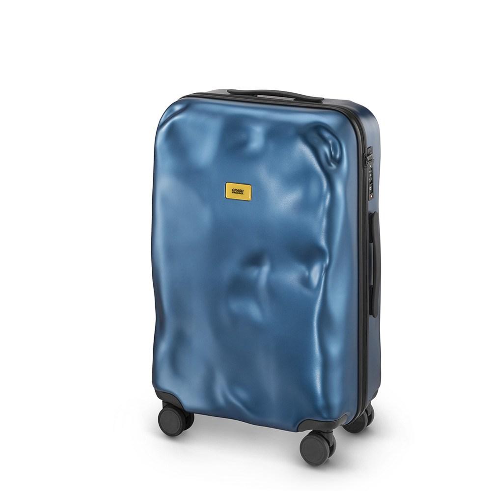 Crash Baggage Icon 中型行李箱25吋-科技藍