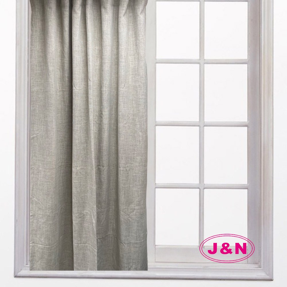 【J&N】亞麻瑞比拉摺窗簾-綠色(270*165cm)綠色