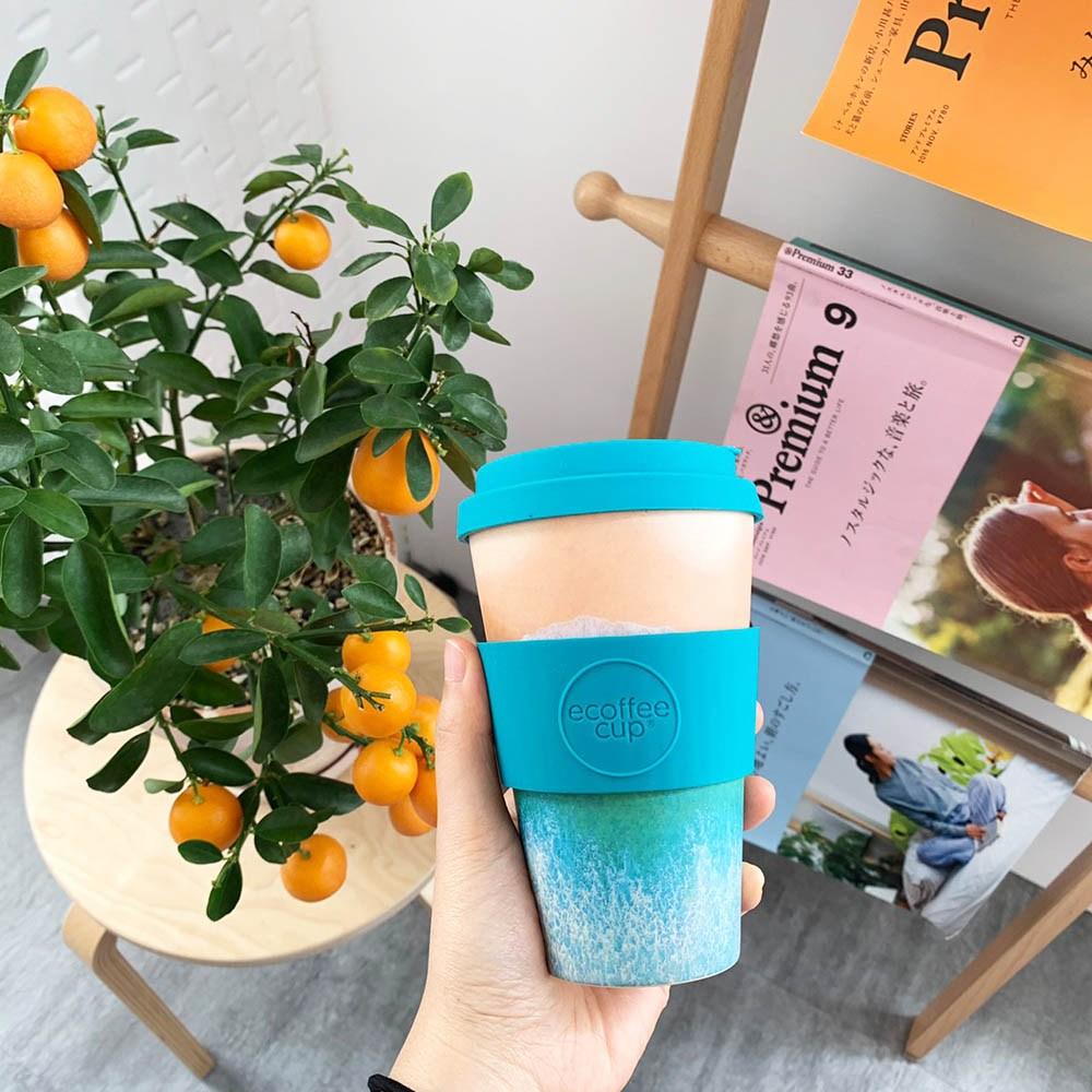 Ecoffee Cup|環保隨行杯14oz(波斯)