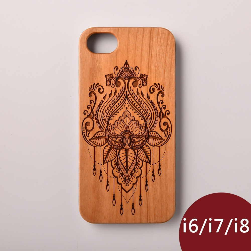 Woodu 木製手機殼 迷情摩洛哥 iPhone i6 i7 i8適用