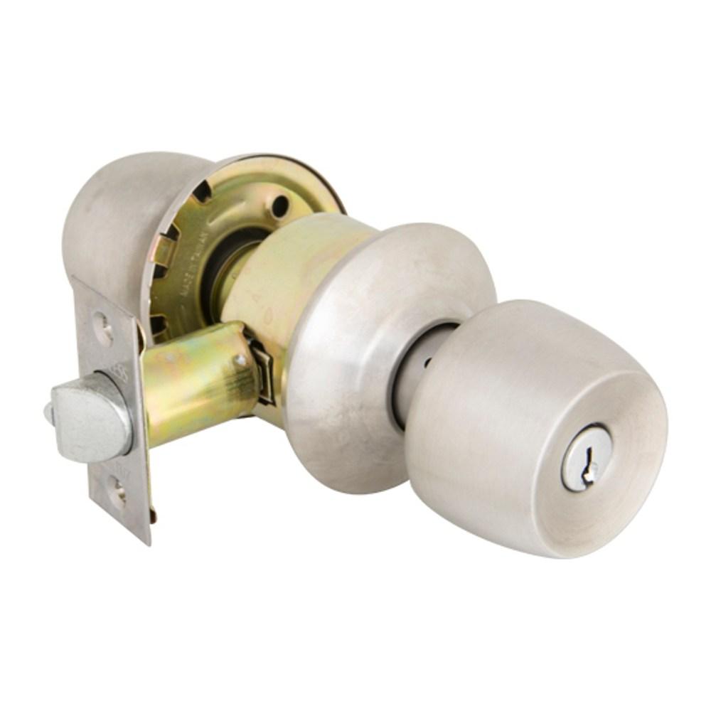 加安牌 喇叭房門鎖不鏽鋼磨砂TC8600