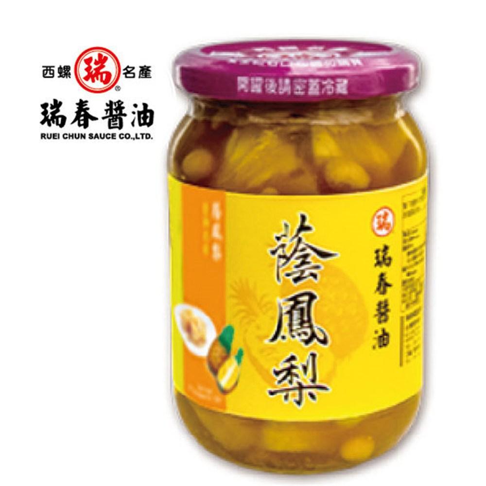 瑞春.蔭鳳梨(350g/瓶,共12瓶)