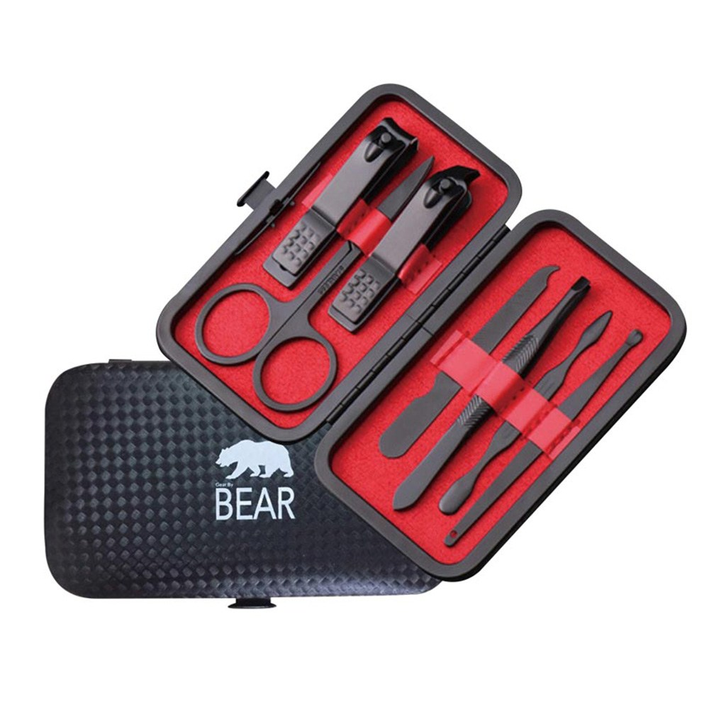 DL BEAR鋼質7件修容組  A463004C