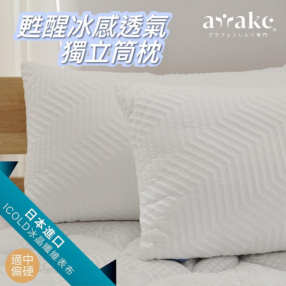 Awake甦醒 ICOLD冰感透氣獨立筒枕