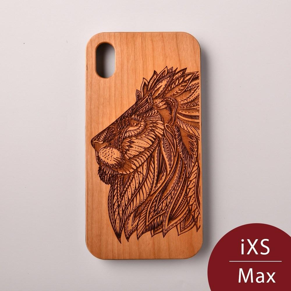 Woodu 木製手機殼 王者榮耀 iPhone XS Max適用