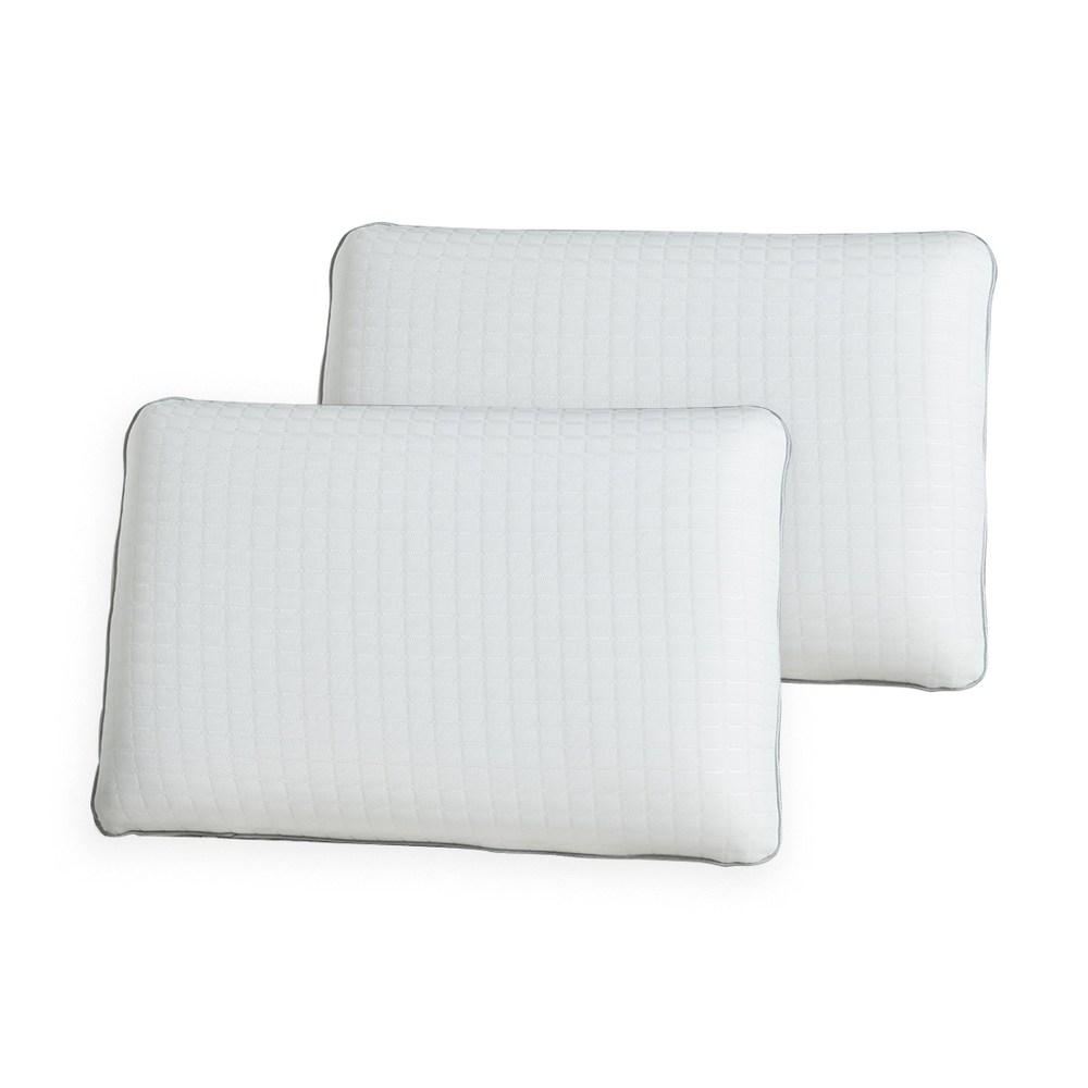 (組)舒眠釋壓雙面記憶枕-標準型(2入)