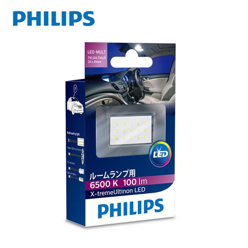 飛利浦LED 新超晶亮系列 高亮度片型室閱讀燈