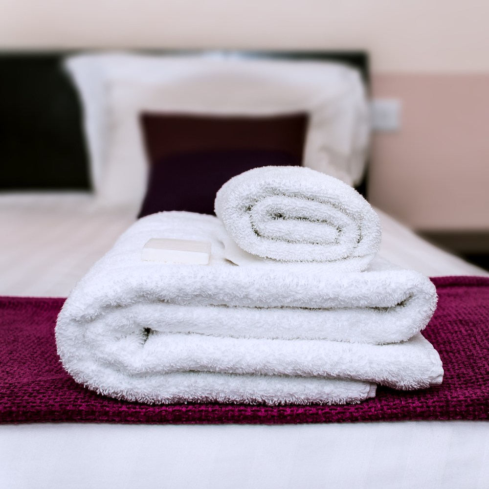 【法式寢飾花季】純品良織-五星飯店專用厚織浴巾毛巾組(浴巾x2+毛巾x6)