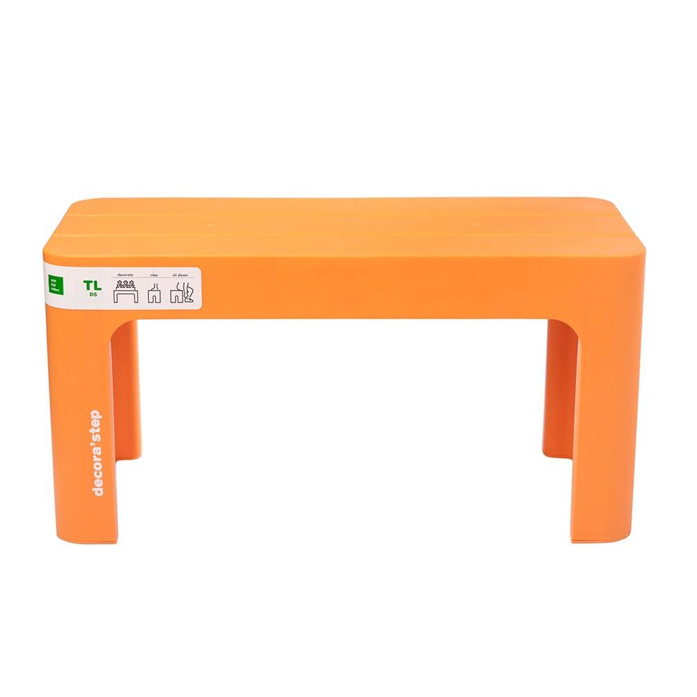 日本SANKA多功能椅凳 寬59x深28x高30公分 橘
