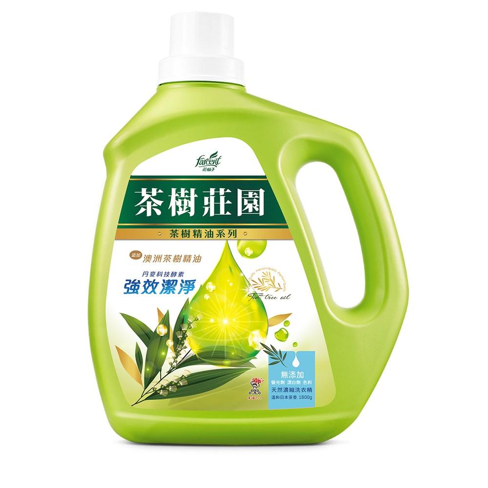 茶樹莊園-茶樹天然濃縮酵素洗衣精1800g