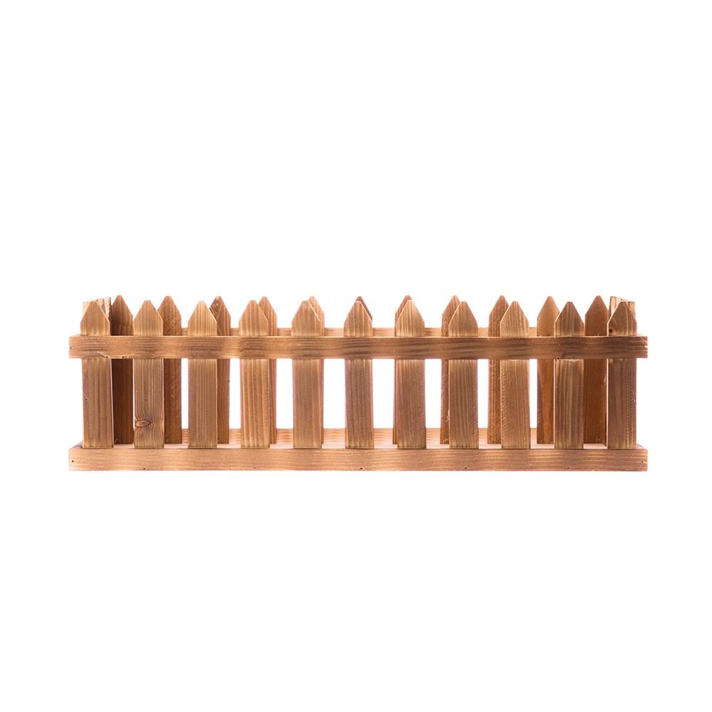 (組)實木燒色花槽 -中-4入