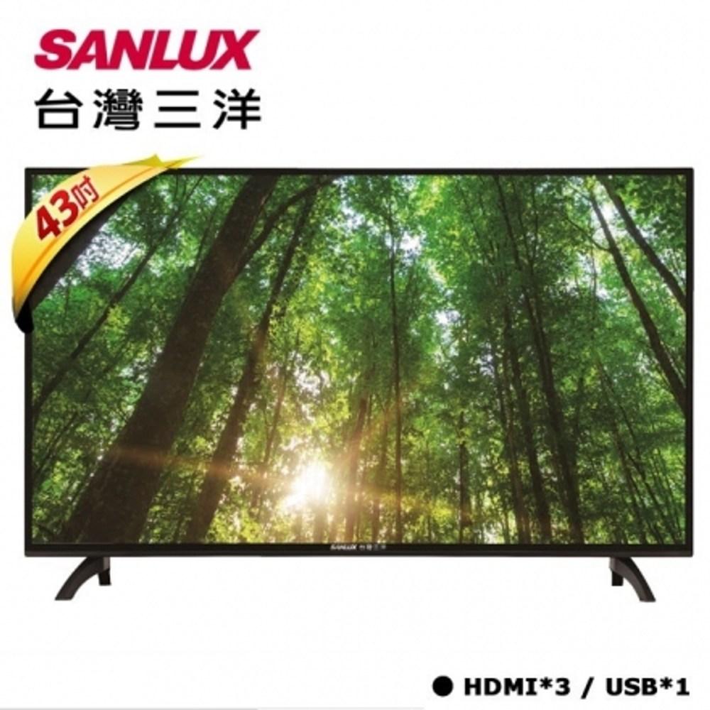 【台灣三洋】 43吋FHD液晶顯示器 SMT-43MA5 (含運不裝)