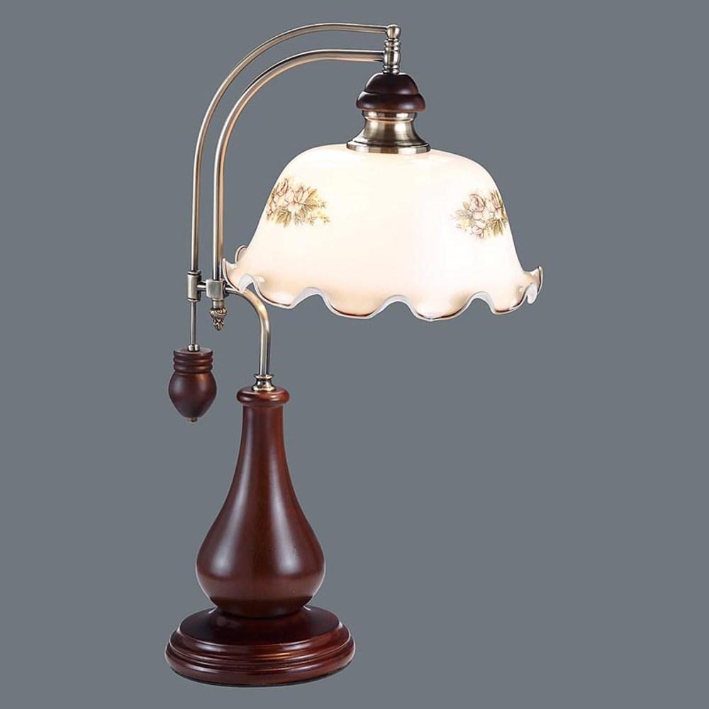 HONEY COMB 原木古典玻璃桌燈BL92341