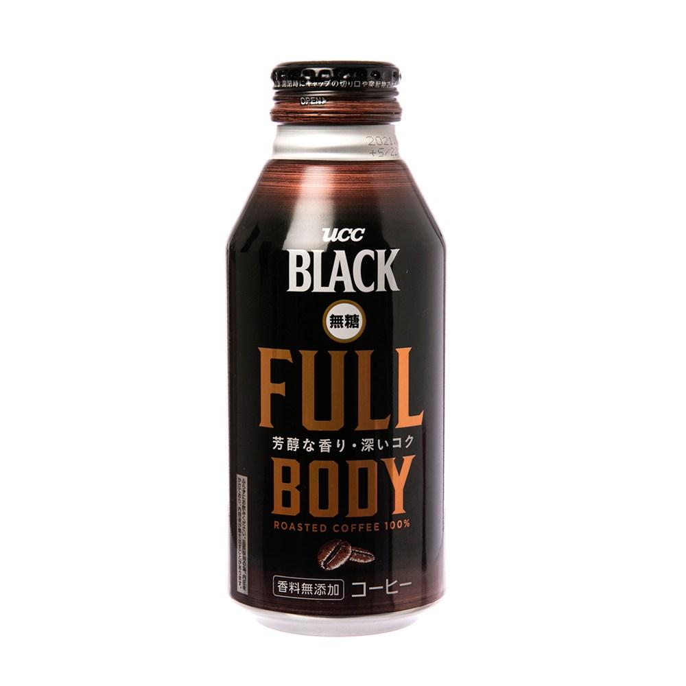 日本UCC-FULL黑咖啡375ml