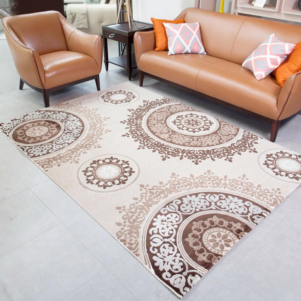 【YFS】耐磨高透氣親膚地毯-羅馬200x300cm