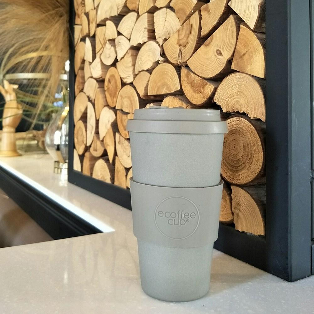 Ecoffee Cup|環保隨行杯16oz(時尚灰)