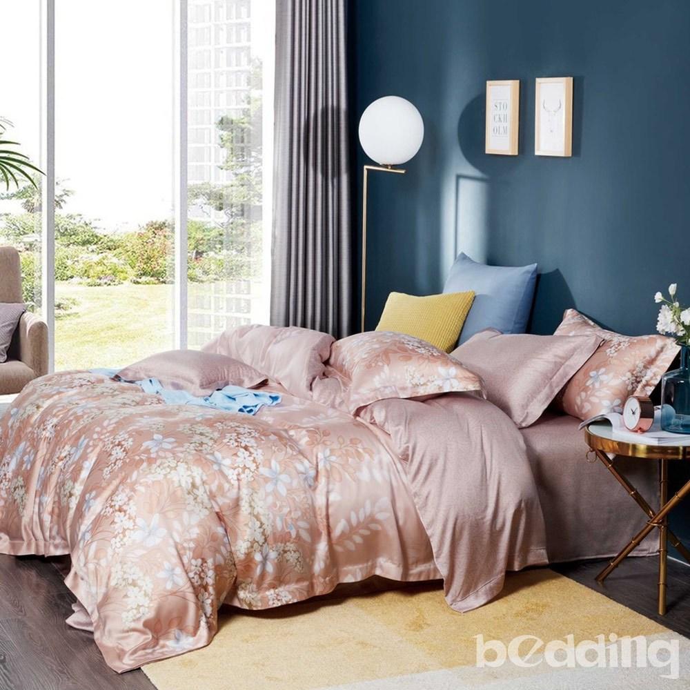 BEDDING-100%天絲三件式枕套床包組-莉絲(加大)