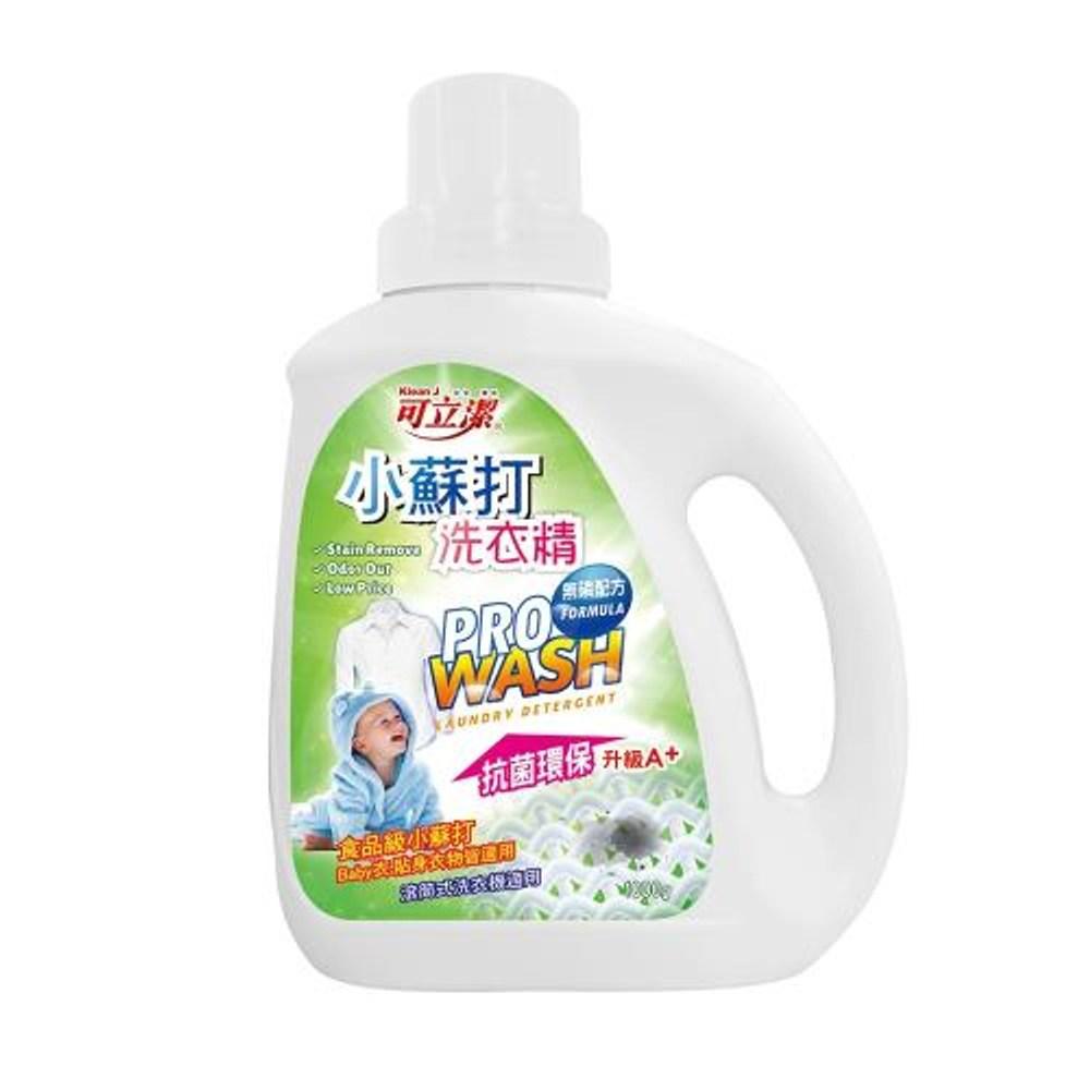 可立潔-小蘇打洗衣精X6瓶(1000g瓶)
