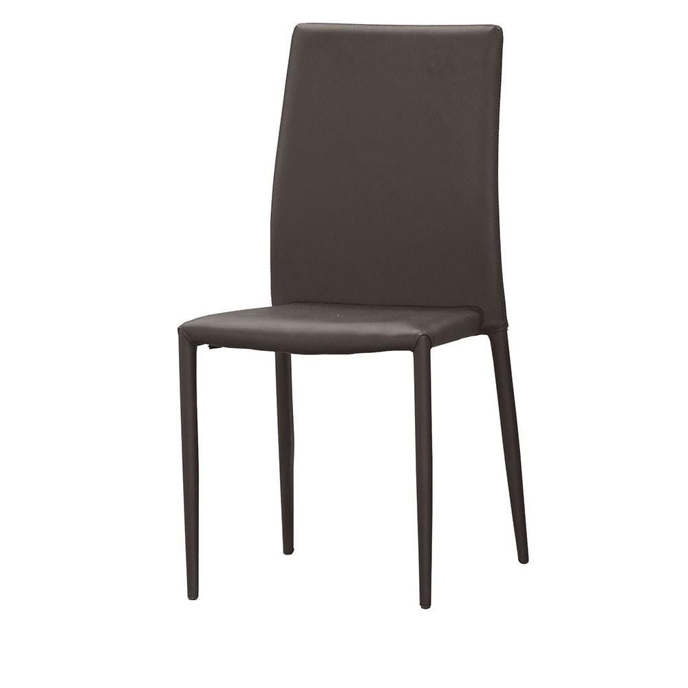 彼得餐椅(咖啡皮)