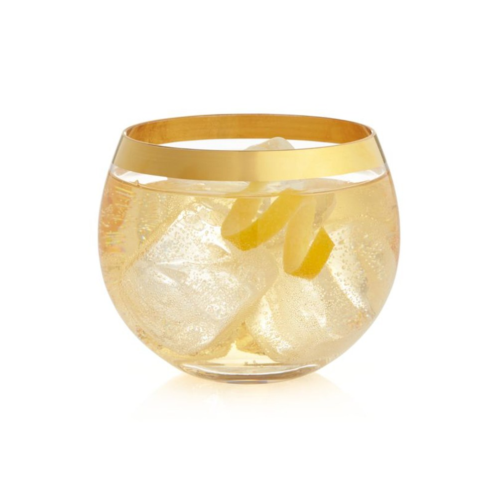 Crate&Barrel Pryce Rocks 威士忌杯 410ml