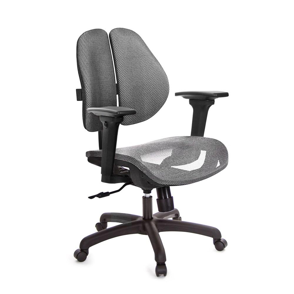 GXG 低雙背網座 電腦椅 (3D升降扶手)  TW-2803 E9#訂購備註顏色.規格
