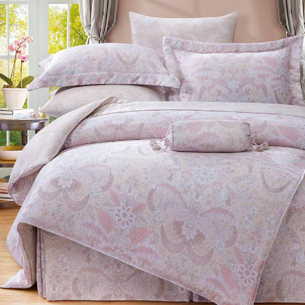 【貝兒居家寢飾生活館】100%萊賽爾天絲兩用被床包組(特大雙人/太陽屋)