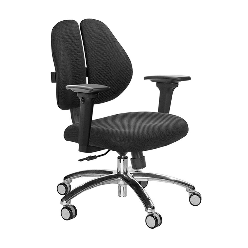 GXG 短背涼感 雙背椅 (鋁腳/3D升降扶手)TW-2992 LU9#訂購備註顏色