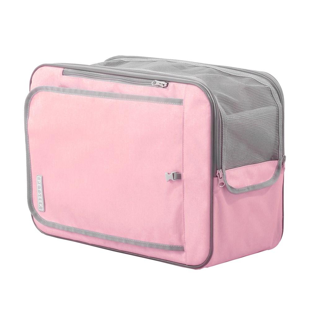 JohoE嚴選 愛麗絲多功能寵物包後背包/手提包/肩背包蜜粉