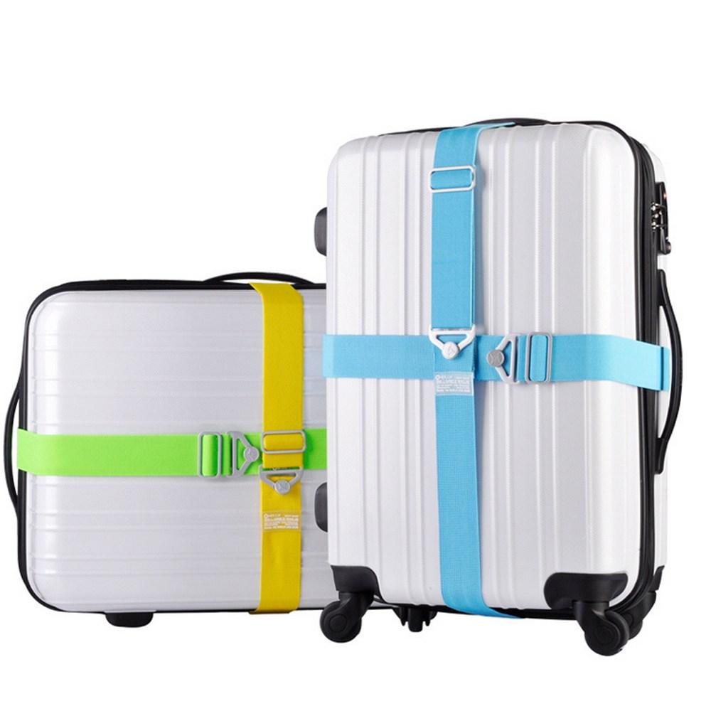 【PUSH!】24吋-32吋行李箱固定帶一入紅色S33-1