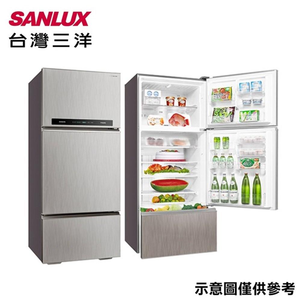 SANLUX 台灣三洋 528L 三門變頻冰箱 SR-C528CV1A