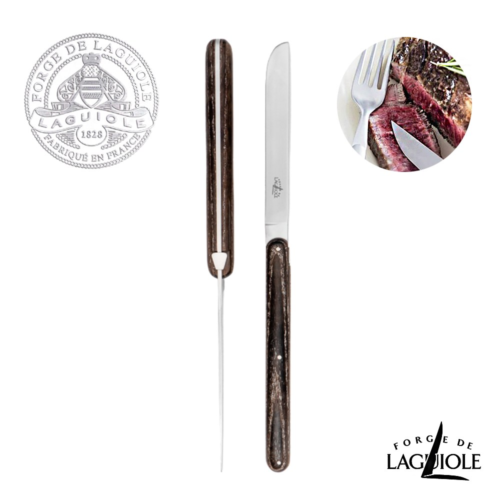 Forge de Laguiole-牛排雙刀禮盒組-A.P設計師款