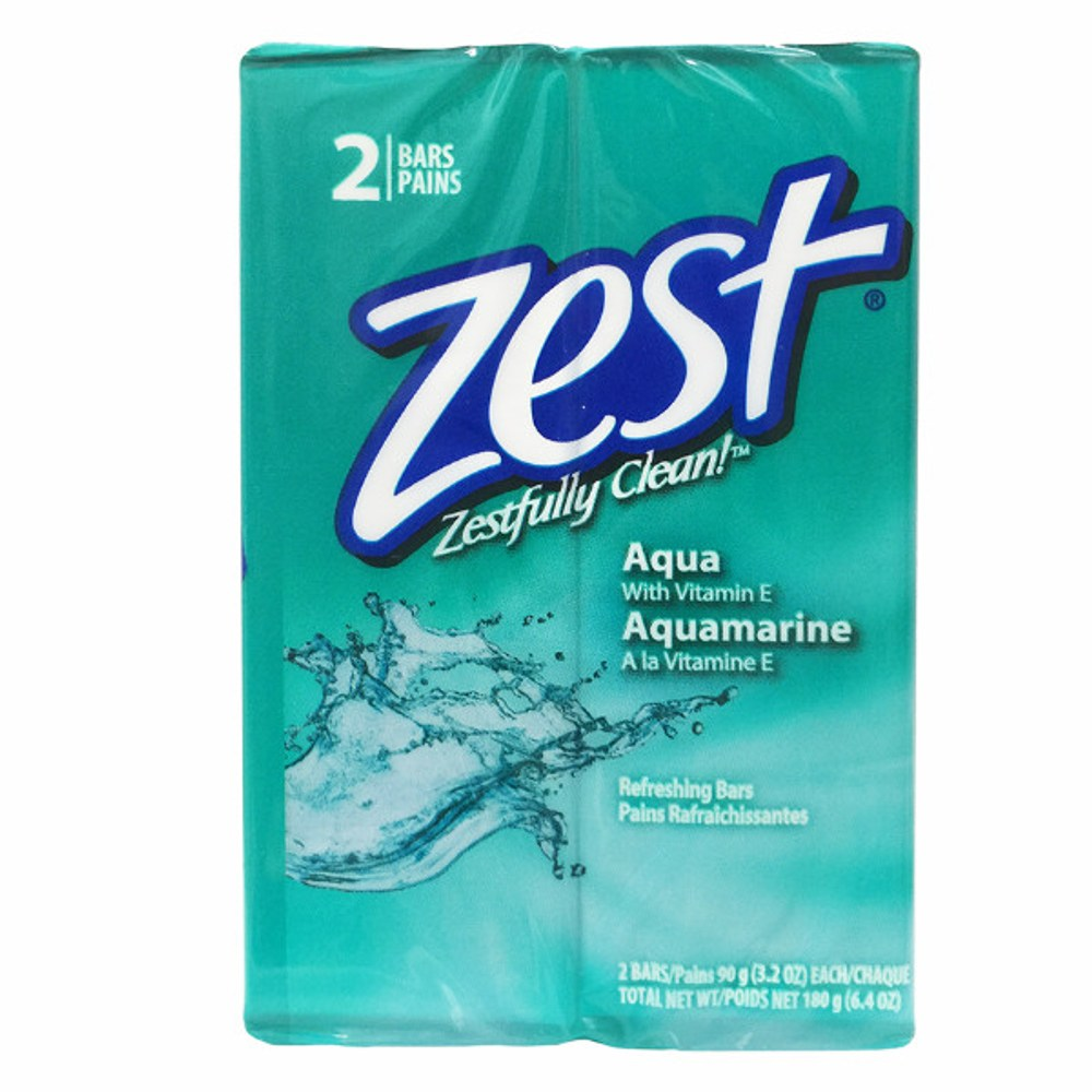 Zest 滋潤保濕香皂-維他命E(3.2oz/90g*2塊)*6