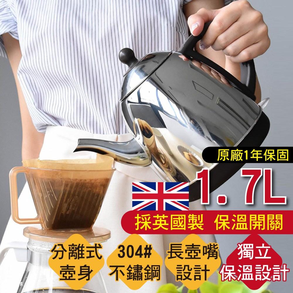 MIT 不鏽鋼超快速電茶壺1.7L